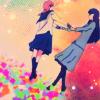 canis_m: dancing homo schoolgirls (Aoi Hana)