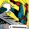 defenestrated: Spiderman [Spiderman comics] (Should have expected it web-head!)