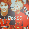happyheartbeat: (✪ peace. :3)