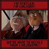 chanceofrainne: (Statler & Waldorf - Heckle Your LiveJour)