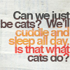 mustangsally78: (Can we just be cats)