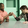 thingswithwings: gus declares a thumbwar (psych - I declare a thumbwar.)