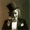 sasha_feather: marlene in a tuxedo (i am at heart a gentleman)