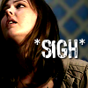 indeliblesasha: Ava from Supernatural looking exasperated. Text: *SIGH* (*sigh*)
