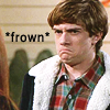 indeliblesasha: That 70's Show Eric frowning. Text: *frown* (*frown*)