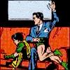 cmshaw: DC Comics: Bruce Wayne spanks Robin (Papa spank)