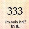 gretchen_marie: (half evil) (Default)
