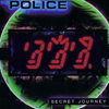 cloudsinvenice: Secret Journey record sleeve - Police faces made from calculator digit bars (The Police: Secret Journey)