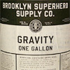 starlady: A can of gravity from the Brooklyn Superhero Supply Co. (in emergency break seal)