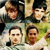 glinda: Merlin OT4 with swords (Merlin OT4)