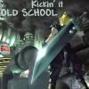 cephy: (cloud kicks it old school)