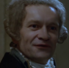 thepussyfootingtyrant: Robespierre looking mildly amused. (Amused)
