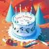 magdalyna: (music cake)