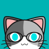 redolentroses: A kitty with cute glasses! (Default)