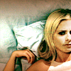 verity: quizzical buffy lying in in bed (buffy (huh what?))