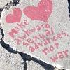 "muskruid: the caption, ""make awkward sexual advances, not war"" (main)"