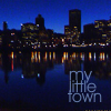 darkemeralds: Photo of Downtown Portland, Oregon USA in twilight (Portland)