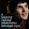 chainfyre: Picture of Merlin with text saying 'a walking, talking, telekinetic bondage rack' (pic#407260)