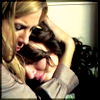 gloss: one woman comforting another (GG comfort)