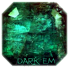 darkemeralds: Photo of a large emerald inscribed with Dark Em (DarkEmeralds)
