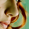 foursweatervests: Natasha profile, hair, mouth (Black Widow | Avengers)