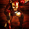 foursweatervests: red, gold, menace (Iron Man | Avengers)