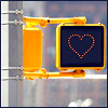 angelikitten: A heart shaped stop sign (Love - Stop in the name of love)