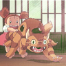 umadoshi: (Kittenbus & Mei (theidolhands))