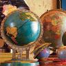 journeys_end: Different types of globes (World)