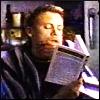 starfish: Newbie, with a book (Hmmmmm)