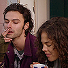 thingswithwings: Mitchell and Annie have a smoke and a cuppa (bh - mitchell annie cuppa)