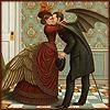 azephirin: (het -- kiss -- wings)