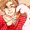 chatty_swan: (my swan and I)
