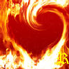 roxy: (heart on fire stock-photo)