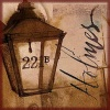 damned_colonial: The lamp outside 221B Baker St (221b)