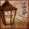 damned_colonial: The lamp outside 221B Baker St (221b)