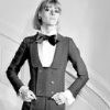 highlyeccentric: A woman in a tuxedo, looking determined (tux - dressed and ready)