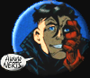 "cmshaw: DC Comics: Kon facepalms and sighs, ""Aww Nerts"" (Aww Nerts)"