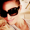 wishfulclicking: Dianna in shades being gorgeous (glee: dianna in shades)