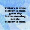dragojustine: (Victory is mine)