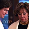 copracat: June and Neal from White Collar with the text OTP (June/Neal OTP)