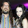 bodger: with Liz Gillies at St. Jude's fundraiser (Liz Gillies)