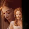 shopfront: Source: Pride & Prejudice, 2005. Caroline and a close-up of Jane, merged. (P&P - [Jane/Caroline] unexpected eleganc)