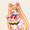 apollymi: Sailor Moon posing, no text (BSSM**Usagi: ☮ (Peace!))