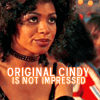 "kiki_eng: a woman makes an unimpressed face - text: ""Original Cindy is not impressed."" (Dark Angel) (Original Cindy is not impressed.)"