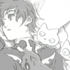 aknightmustrise: ([Suzaku] Pensive with cats)