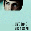 "thefourthvine: Reboot Spock. ""Live long and prosper."" (STR Live long and prosper hostile)"