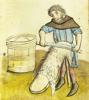 ossamenta: Tanner from Medieval manuscript (Vitgarvare (Nürnberg 12brüderstiftung))