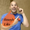 "jumpuphigh: Vin Diesel tugging his earlobe.  Balloon with words, ""Sounds Like"". (Vin Charades)"