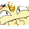 cyberill: (Meowth - smothering laughter)
